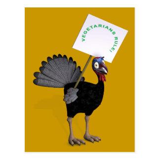 Vegetarians Rule! Postcard