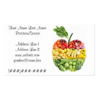 Veggie Apple Business Card Templates