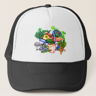 Veggie Basket Trucker Hat