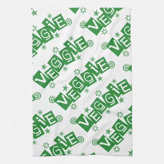 Veggie For Vegetarians and Vegans Towels