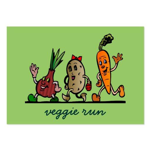 veggie fun business card