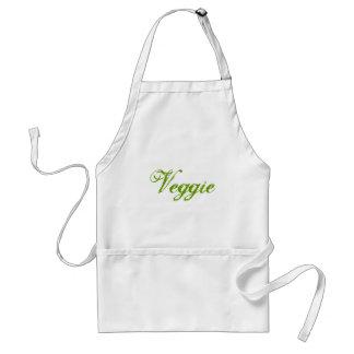 Veggie. Green. Slogan. Aprons