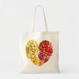 Veggie Heart Bags