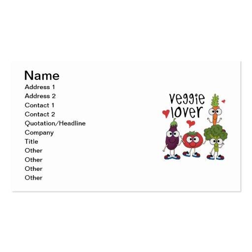 Veggie Lover Business Cards