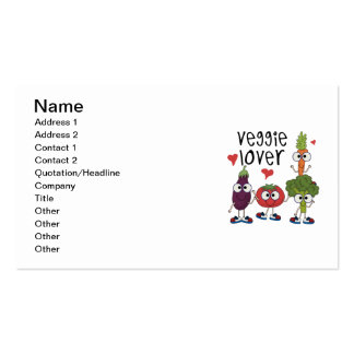 Veggie Lover Pack Of Standard Business Cards