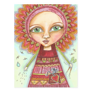 Veggie Patch Fairy.jpg Postcard