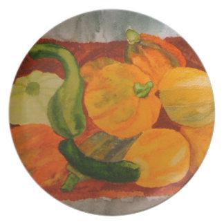 veggie platter plate