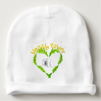 Veggie Power baby Cotton Beanie Baby Beanie