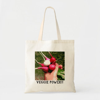 Veggie Power Tote Bag