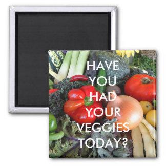 Veggie Reminder Magnet