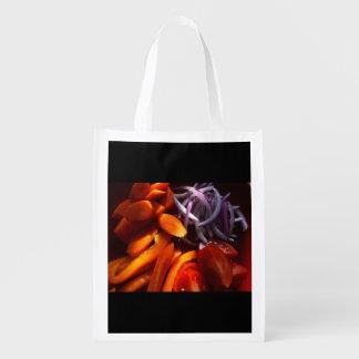 Veggie Reusable Grocery Bag