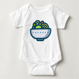 Veggie Salad Baby Bodysuit