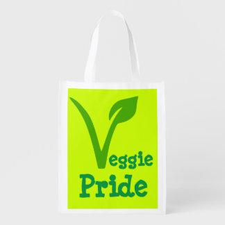 veggie,vegetarian,vegan ,symbol,VEGGIE PRIDE Market Tote