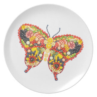 VeggieArt Butterfly Party Plates