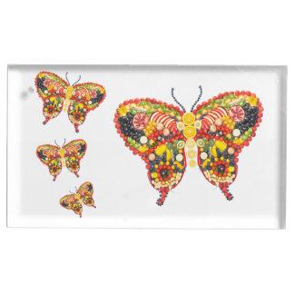 VeggieArt butterflys Table Card Holders