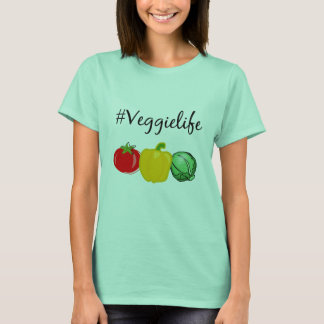 #veggielife t-shirt