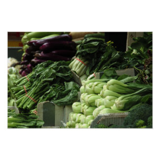 Veggies for sale poster