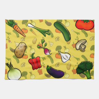 Veggies Kitchen Towl Hand Towel