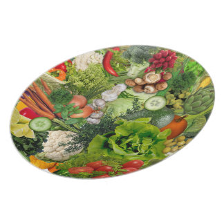 Veggies Party Plate