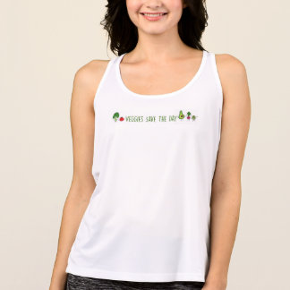 Veggies Save The Day NB Tank Top