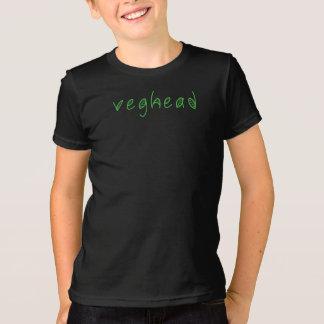 Veghead Vegetarian or Vegan Humour funny T-shirt