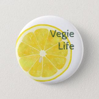 Vegie Life LEMON Button