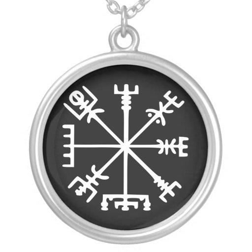 Vegvísir (boussole de Viking) Pendentif