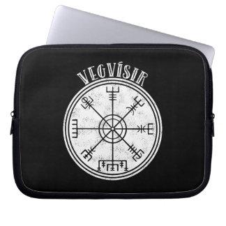 VEGVISIR  Icelandic compass Laptop Sleeve