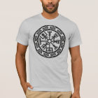Vegvisir, Icelandic Compass, Runes, Protection T-Shirt