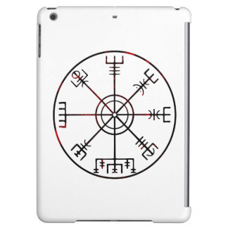 Vegvisir Icelandic Protective Runes iPad Air Cases