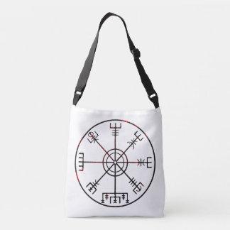 Vegvisir Icelandic Runic Stave Crossbody Bag