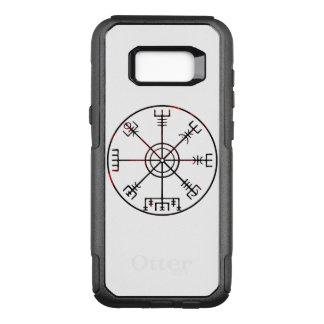 Vegvisir Icelandic Runic Stave OtterBox Commuter Samsung Galaxy S8+ Case