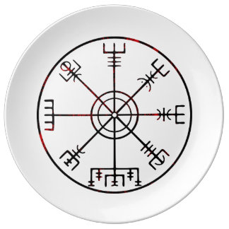 Vegvisir Icelandic Stave Plate