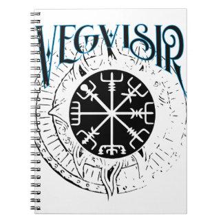 vegvisir nordic pathfinder compass notebook