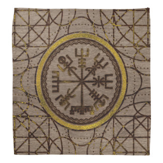 Vegvisir. The Magic Navigation Viking Compass Bandana