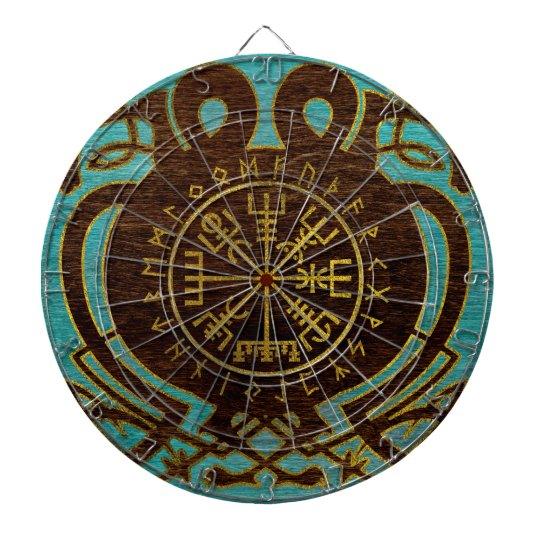 Vegvisir - Viking  Navigation Compass Dartboard
