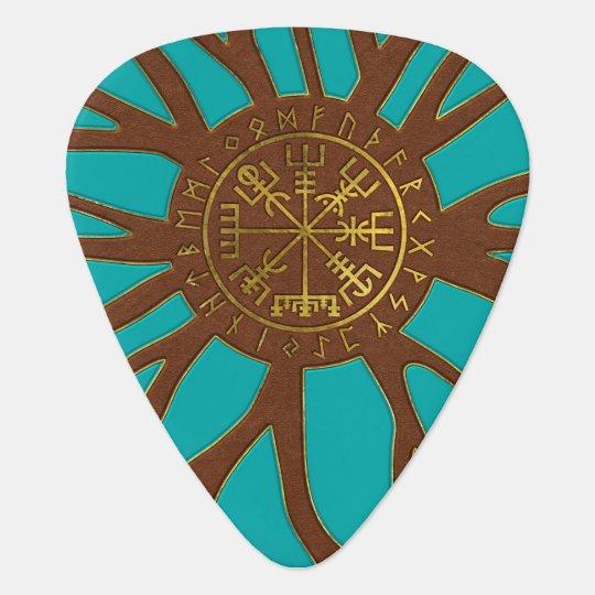 Vegvisir - Viking  Navigation Compass Guitar Pick