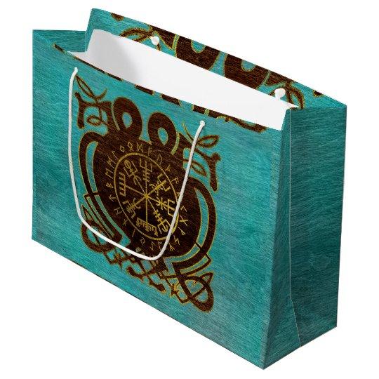 Vegvisir - Viking  Navigation Compass Large Gift Bag