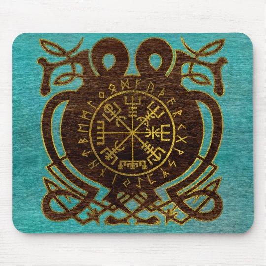 Vegvisir - Viking  Navigation Compass Mouse Pad