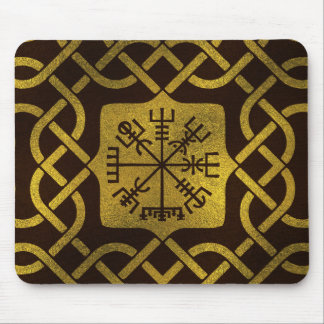 Vegvisir - Viking  Navigation Compass Mouse Pad