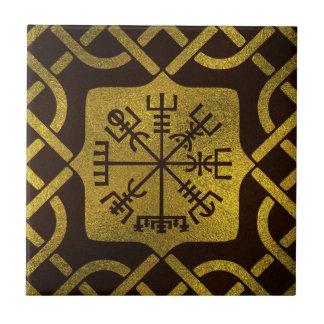 Vegvisir - Viking  Navigation Compass Tile