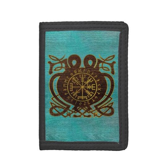 Vegvisir - Viking  Navigation Compass Tri-fold Wallet