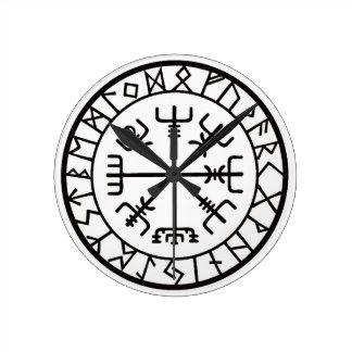 VegvisirCompass.jpg Round Clock