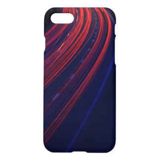 Vehicle Traffic Tail Light Trails iPhone 7 Case