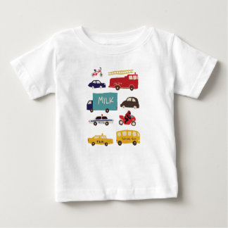 Vehicles Baby T-Shirt