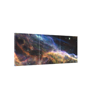 Veil Nebula Canvas Print