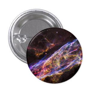 Veil Nebula Supernova Remnant 1 Inch Round Button