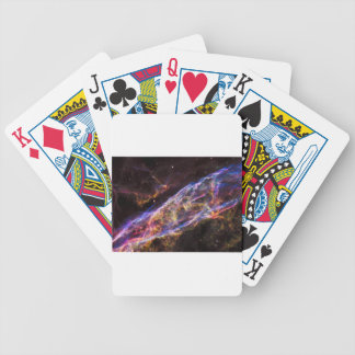 Veil Nebula Supernova Remnant Bicycle Playing Cards