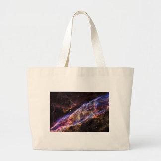 Veil Nebula Supernova Remnant Large Tote Bag