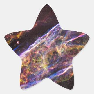 Veil Nebula Supernova Remnant Star Sticker